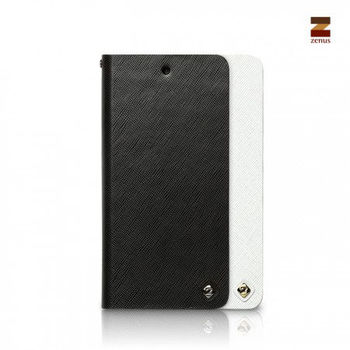 Nexus 5 Zenus 商務十字紋 書本式皮套