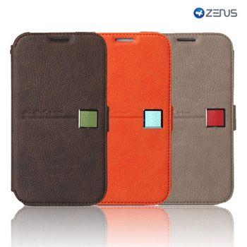 SAMSUNG Note 2 Zenus 愛情日記 撞色書本式皮套