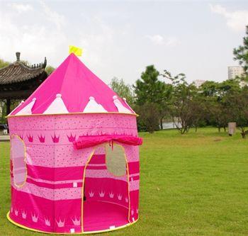 (傑安瑞嚴選)公主款兒童遊戲城堡/遊戲屋帳篷系列,打造貝兒公主的家