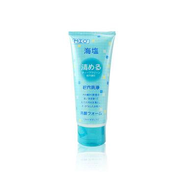 日本MIO海鹽潔淨洗面乳130ml