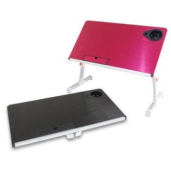新改良大桌面百變鋁合金電腦折疊桌