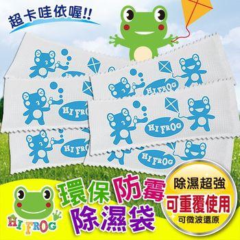 【Hifrog】超值6入可重複用玩具衣物防霉除濕袋~80克
