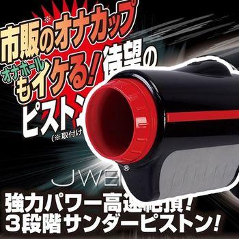 日本原裝進口NGP  3段式前後抽送飛機杯專用電動自慰器