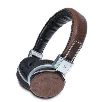LMLikeMall iLike 皮革頭戴式耳機麥克風