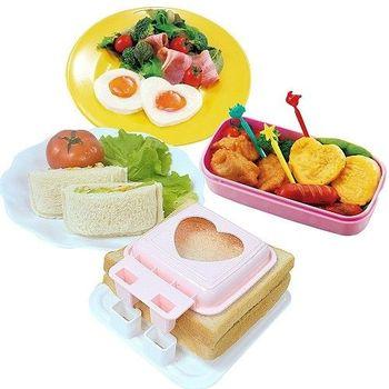 【日本製造】sanada蒸蛋模具+三明治模具(2件組)