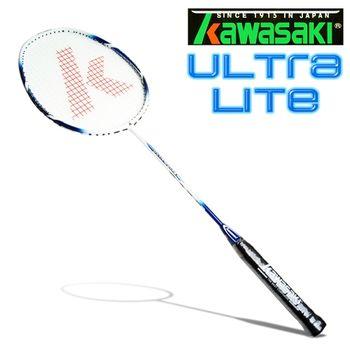 Kawasaki Ultra LITE 奈米碳纖維超輕羽球拍(藍)