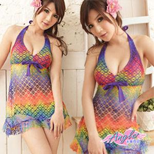 【天使霓裳】夢幻空間 兩件式連身裙 泳衣(共3色)SQ13050