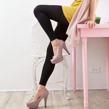 【華貴牌】90D頂級天鵝絨顯瘦九分內搭塑身褲襪(2雙入)