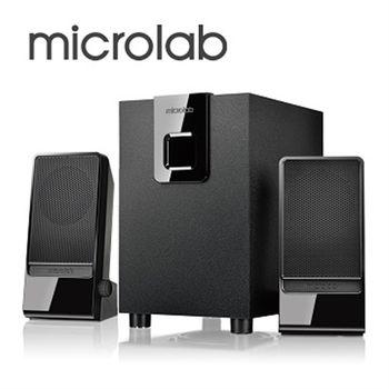 【Microlab】M-100  2.1多媒體喇叭(國民澎湃機)