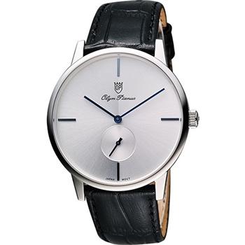 Olympianus 奧柏 光輝時刻小秒針腕錶-130-13MS