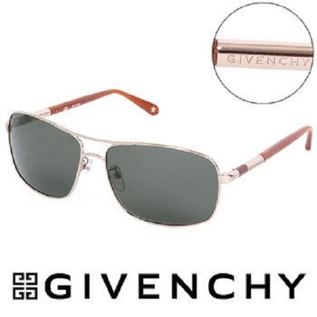 GIVENCHY 法國魅力紀梵希都會玩酷飛行員復古太陽眼鏡(橘)