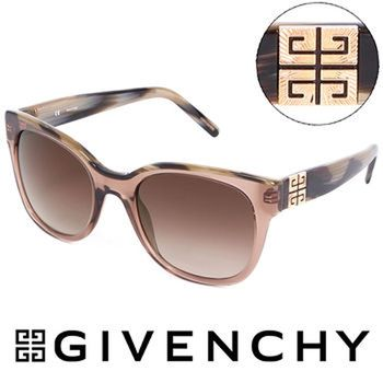 GIVENCHY 法國魅力紀梵希都會玩酷大理石紋造型太陽眼鏡(粉)