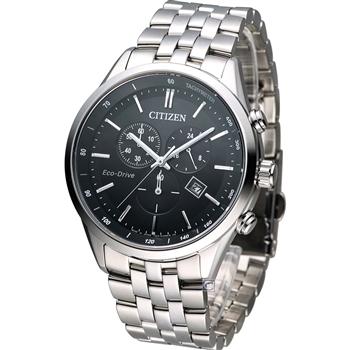 CITIZEN Eco-Drive 科技百搭計時腕錶 AT2140