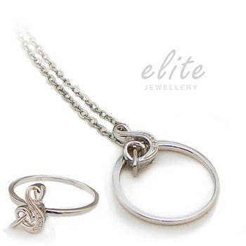 Elite伊麗精品 925純銀項鍊- 音樂情人