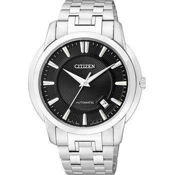 CITIZEN都會紳士風格腕錶-黑NB0020-55E