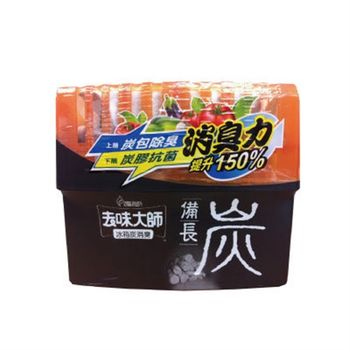 花仙子去味大師備長炭冰箱消臭劑150g(罐)x3入/組