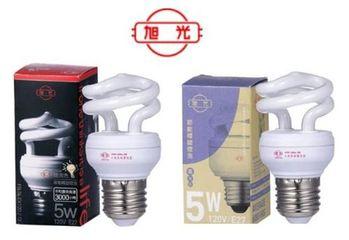 【旭光】 T2螺旋燈泡 5W(4入)