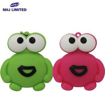 NHJ  笑臉青蛙公仔造型隨身碟(16G)(兩色可選)