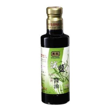黑龍40%減鈉減鹽醬油(300mlx12瓶/箱)