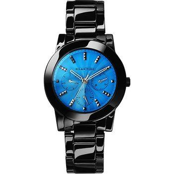 RELAX TIME 繽紛色彩日曆時尚腕錶 RT-52-9