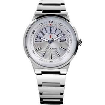LICORNE開屏人生時尚玩家腕錶-銀LI001MWWI