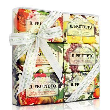 Nesti Dante  義大利手工皂-天然鮮果禮盒150g×6入