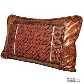 【凱堡】真涼爽碳化麻將高山茶葉枕 -1入