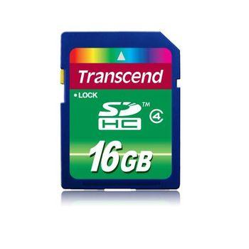 創見 SDHC 16GB Class4記憶卡-TS16GSDHC4