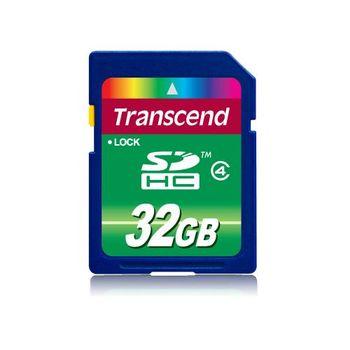 創見 SDHC 32GB Class4記憶卡