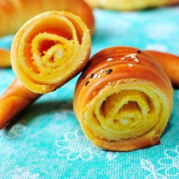 【角之館】三峽金牛角麵包-奶酥(10支/盒)