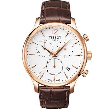 TISSOT Tradition腕錶T0636173603700