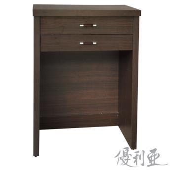 【優利亞】特斯克2尺掀鏡化妝台+椅(3色)