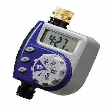 【灑水達人】美國ORBIT單區自動定時灑水器(藍色限定LCD螢幕)