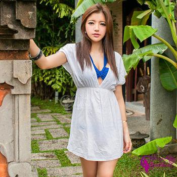 【Sexy Cynthia】優雅甜美 洋裝外搭罩衫