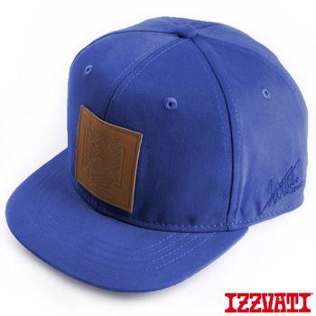 【IZZVATI】 黃鴻升代言.LOGO潮帽 (淺藍)