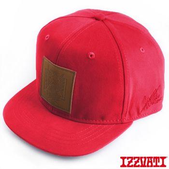 【IZZVATI】 黃鴻升代言.LOGO潮帽 (深紅)