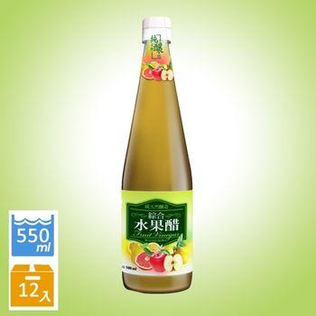 【崇德發】綜合水果醋 x12瓶