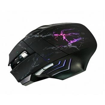 KINYO  闇夜之刃6鍵式電競專用有線滑鼠(GKM-802)