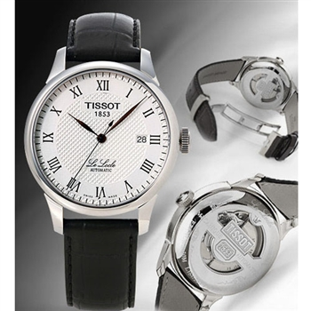 TISSOT Le Locle力洛克圖騰紋機械錶T41142333