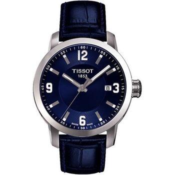 TISSOT PRC200都會石英錶藍T0554101604700