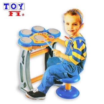 【Toy F1】音樂神童數位電子打擊鼓