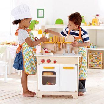【德國HAPE愛傑卡】廚房系列大型廚具台(北歐白)