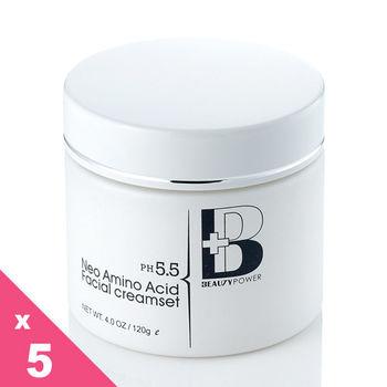 BP小白花胺基酸淨白潔膚霜(5罐)