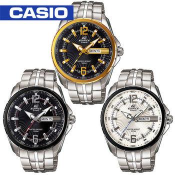 【CASIO EDIFICE系列】放射指針型男錶(EF-131D)