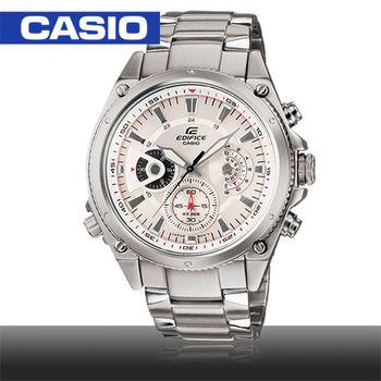 【CASIO EDIFICE系列】馳騁三眼賽車錶(EF-536D)