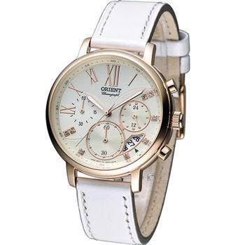 ORIENT 東方 晶彩時刻 計時腕錶 FTW02003S