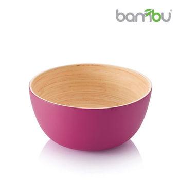 【Bambu】竹風迷你小圓碗 - 桃花紅