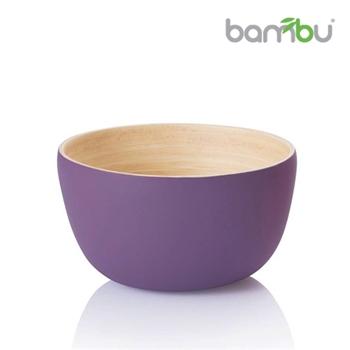 【Bambu】竹風迷你小圓碗 - 茄子