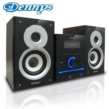 《Dennys》黑色音樂精靈USB/FM/DVD音響MD-380