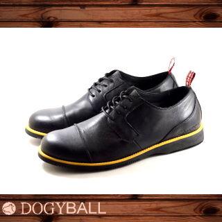 【DOGYBALL】Alex 簡約學院風牛津休閒鞋/黑色